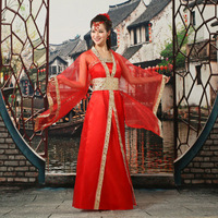 Princess Fairy Clothes Tang Suit Hanfu Costume Dress Chinese ancient costume Traditional Costume Dress infanta