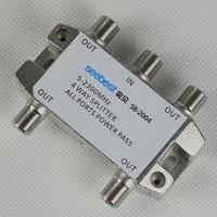 4 way satellite TV antenna signal splitter for SATV/CATV ( 5-2400MHz )