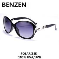2015  Sunglasses Women Polarized UVA UVB Rhinestone Female Sun Glasses Oculos De Sol Feminino  With Case 6028