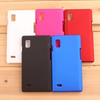 New Arrival Luxury Super Frosted Matte Hard Case Cover For LG Optimus L9 P700 P765 Plastic Back Cover