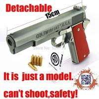 Free shipping 1:2.05  Alloy Detachable Desert Eagle Colt M1911Gun Model,Military Model, Military Souvenir gift,model toy