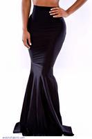 maxi long skirt women saias longas  High Waist Bodycon Mermaid Floor-length faldas LC71068