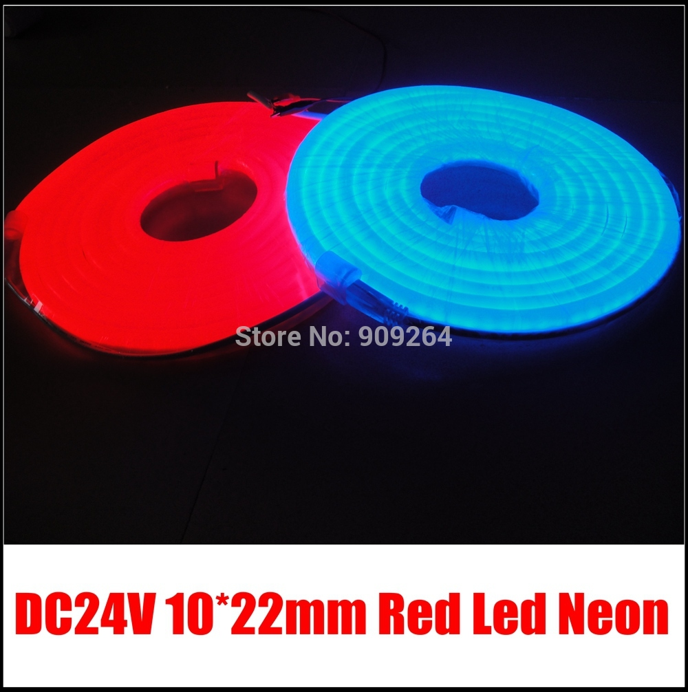 Brand New DC24V Mini LED Neon flex strip in red,blue,green yellow,orange,pink,white,warm white for holiday lighting and events,(China (Mainland))