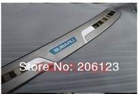 For Subaru Forester 2009 10 11 2012 Rear Bumper Sill/Protector Stainless Steel 1set