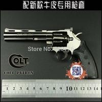 Free shipping 1:2.05 14cm long Alloy Detachable can't shoot Colt Anaconda gun,Military Model, Military Souvenir gift,gun model