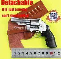 Free shipping 1:2.05 11.5cm long Alloy Detachable can't shoot Smith Wesson M29 GUN Model, Military Souvenir gift,gun model