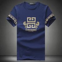 2015 Mens Tshirt Fashion Plus Size Man New Arrive Short-sleeve T-shirt 5XL 4XL Good Quality Summer T shirt
