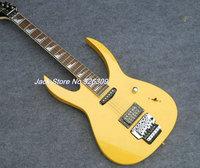 New guitars IBAN JEM 7V yellow rosewood Fretboard Electric Guitar China guitars