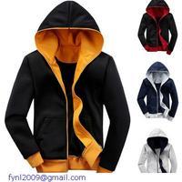 New Grey Navy Two Tone Patchwokr Full-Zip Long Sleeves Crewneck Sportswear Mens Casual Basketball Sweatshirts Hoodies LC11003