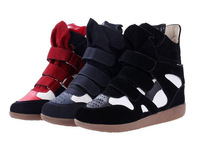 2015 New Hot Sale Shoes Woman Women Shoes Fashing Sneakers Height Increasing Spring/Autumn  Red Blue Black  Ankle Boots