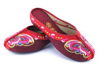 небольшие вышитые обувь--cheongsam производства хлопка женщин обувь одного