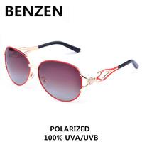 2015  Sunglasses Women Polarized UV  Rhinestone Sun Glasses Female Oculos De Sol Feminino  With Case 6029