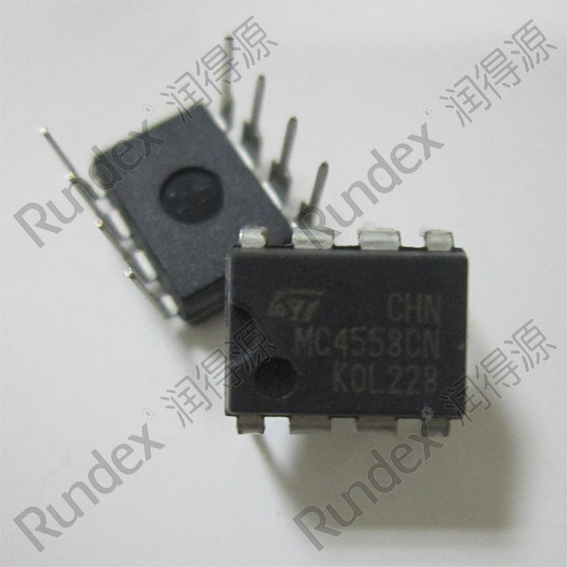 подлинное ST MC4558CN 4558