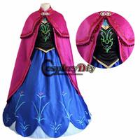 2015 new arrival anime cosplay Custom-made Movie Cosplay Costume Princess Dress Adult cosplay
