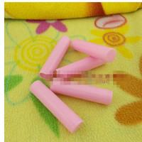 50piece/lot 5g Empty Bottle Lip Balm Plastic Pipe Lipstick Tube Refillable Bottles Color Pink 2382