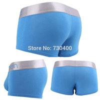 Free shipping original underwear Men padded plus size Brief Cotton ultra bikini sexy men pants Shorts
