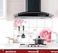 2015 Extra large kitchen oil stickers prevent lampblack ceramic tile wall stickers Ambry
