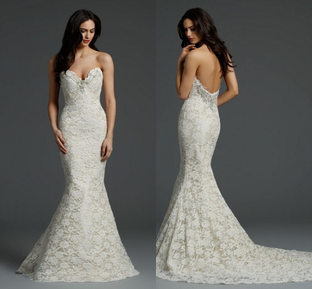 Vestido De Noiva 2015 Mermaid Wedding Dresses Robe De Mariage Prices