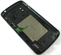 Replacement Back Battery Cover Housing for LG Google Nexus 4 / E960 Black