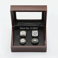 100% copper free shipping four(4PCS) NFL1966 1967 1996 2010 Green Bay Packers Super bowl CHAMPIONSHIP REPLICA FAN RINGS FULL SET