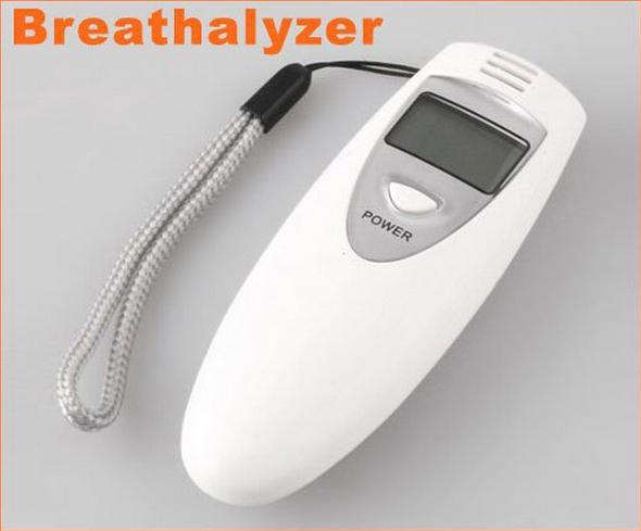 LCD Digital Alcohol Breathalyzer Breath Tester Analyzer(China (Mainland))