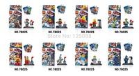 super heroes The Movie Figures 8pcs/lot LELE 78025 Minifigures Building Blocks Sets Model Bricks Toys For Children
