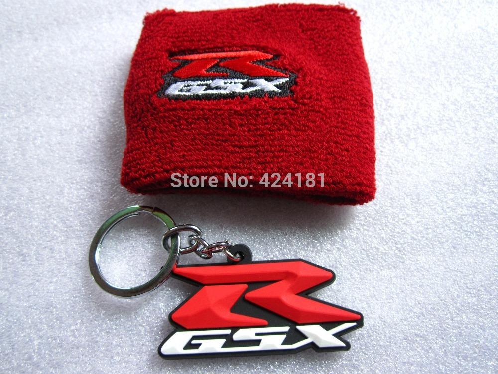 Gsxr Red Brake Reservoir Sock