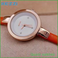 2015 Glass Hot Sale Real Women Watches Stylish Beautiful Slender Female Form Quartz Watch Strap Wholesale Free Shipping