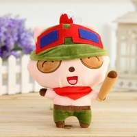 7.8'' 20cm LOL Teemo Plush Toy Doll Game Player Gift Baby Collect Stuffed KIds Toy The Swift Scout 50pcs/lot EMS Free Shipping