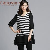 brand summer dresses for women casual chiffon dress plus size vestidos de festa vestido longo vestidos largos black and white