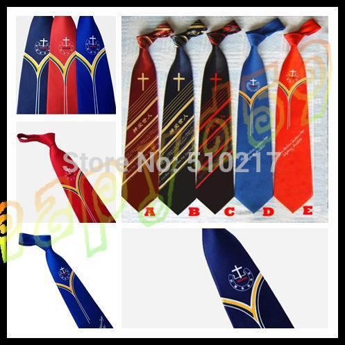 4pcs fashion man Christian tie band choir god bless you tie woman neck tie(China (Mainland))