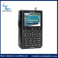 "Satlink WS-6906 3.5"" DVB-S FTA digital satellite meter satellite finder ws 6906 satlink ws6906 for satellite receiver"