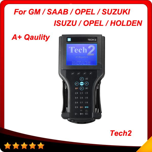 2015 A+ Quality for GM vetronix TECH2 Full Set for GM/OPEL/SAAB/ISUZU/SUZUKI/HOLDEN 6 software Tech 2 Scanner free shipping(China (Mainland))