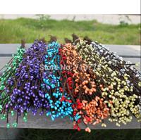 40cm diy pretty PEARLY-LUSTRE pip berry stem for floral arrangemanet bracelet wreath wedding diy wreath artificial flower wreath