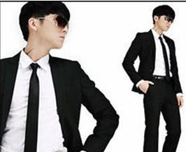 New Casual Neck Ties For Men Brand Black Men Neck Ties esigner Cheap Comfortable Men Apparel Accessories(China (Mainland))