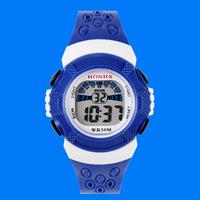 2015 boys girls students watch electronic waterproof watch digital watches LED Sports watches clock T91 100pcs/lot