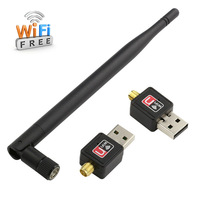 2015 150M WiFi Mini USB Wireless Lan Adapter Network WI-FI 802.11 N Networking Card Adapter Wi fi Antenna Receiver For Laptop