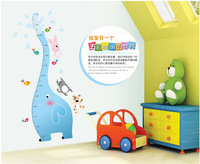 Wall sticker decorative Animal height measurement stickers home decor beautiful home decoration wall stickers for kids rooms