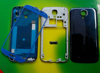 1Pcs Blue Full Housing Cover Case+Outer Screen Glass Lens For Samsung Galaxy S4 SIV i9500 With Tools+Free Shipping