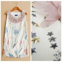 Summer elegant women's 2015 small sexy short design silk one-piece dress fashion