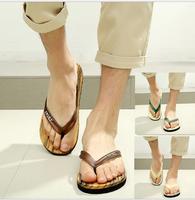 New 2015 Summer Fashion Man Sandals Casual Flip Flops Beach Sandals Summer Shoes