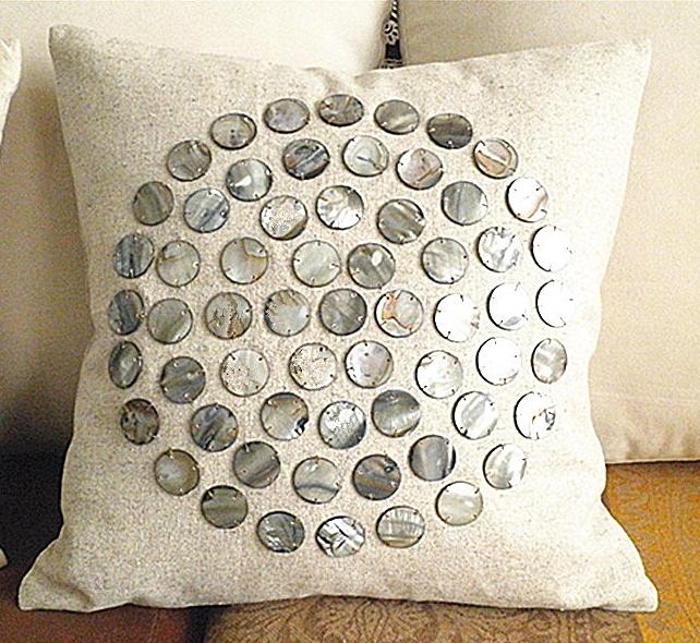 handmade round cushions
