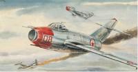 Trumpeter model 02806 1/48  MiG-15 bis Fagot-b