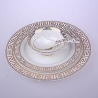6-piece china Western steak dish sets wedding tableware Continental hotel cutlery tray