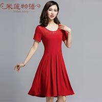 new arrival woman fashion 2015 brand plus size dresses prom crochet womens dresses  sundress  xxl