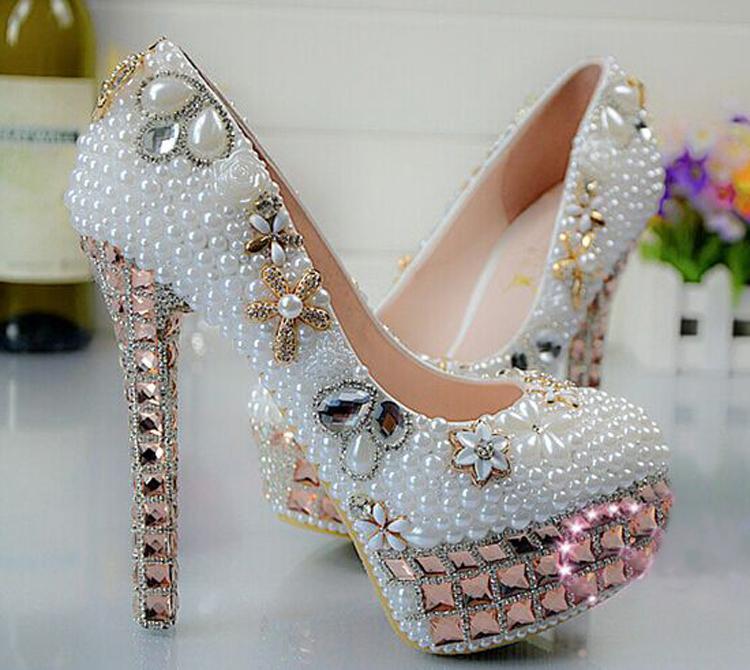 aliexpress buy 2014 new arrival pretty wedding shoes