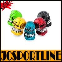 Free Shipping Universal 5 color resin Auto Car Skull Head Car Gear Shift Knob & shift lever knob