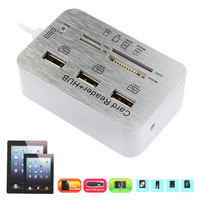 High Quality 2015 5 in 1 HUB USB Micro SD Card Reader Camera Connection Kit For iPad 4 For iPad mini Air 4 5 Memory Sd-Card