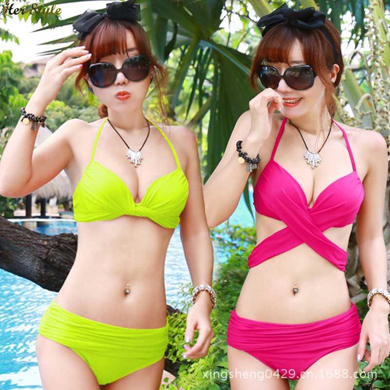 Free Shipping hot Leopard bikini swim swimsuit sexy steel plate equipment(China (Mainland))
