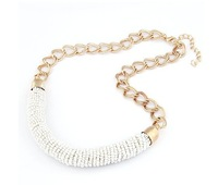 2015 New Arrival Fashion Women Vintage Accessories Chokers Necklaces Gold Jewelery Statement Necklace